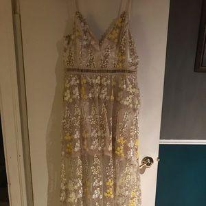 Aqua Gown size Large